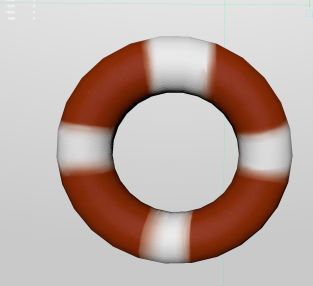 2 hoop thing in maya