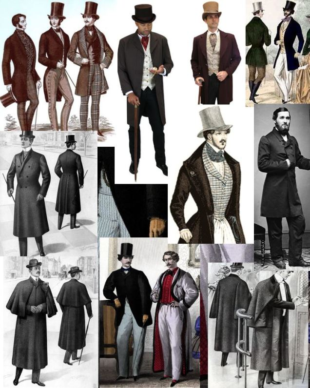 4 male victoran clothes