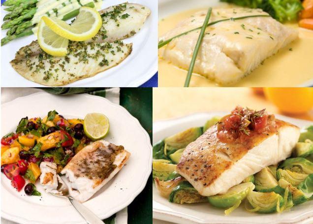 4 white fish