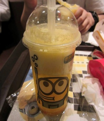 TAG 6% minion drink hongkong