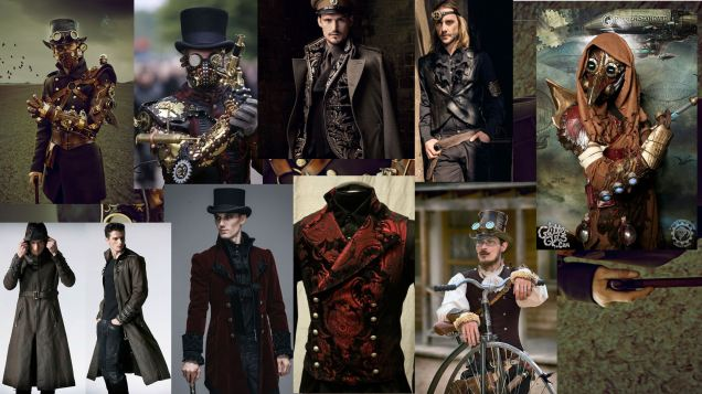 1 steampunk males