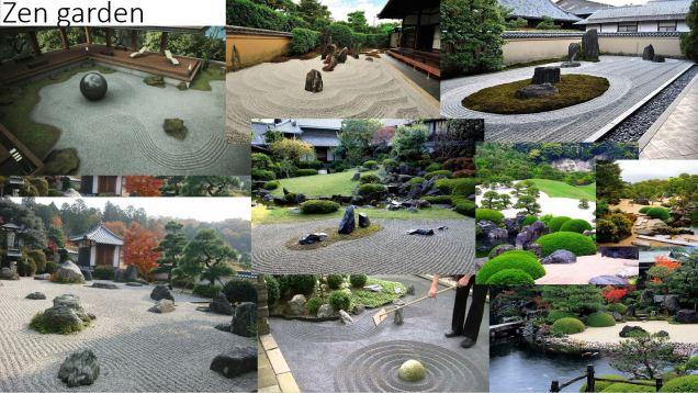 2 zen gardens
