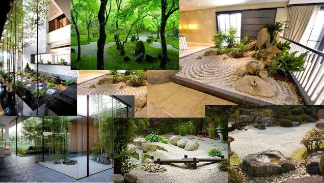 4 zen gardens