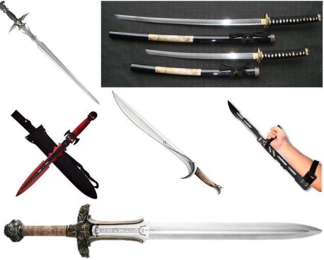 1 swords